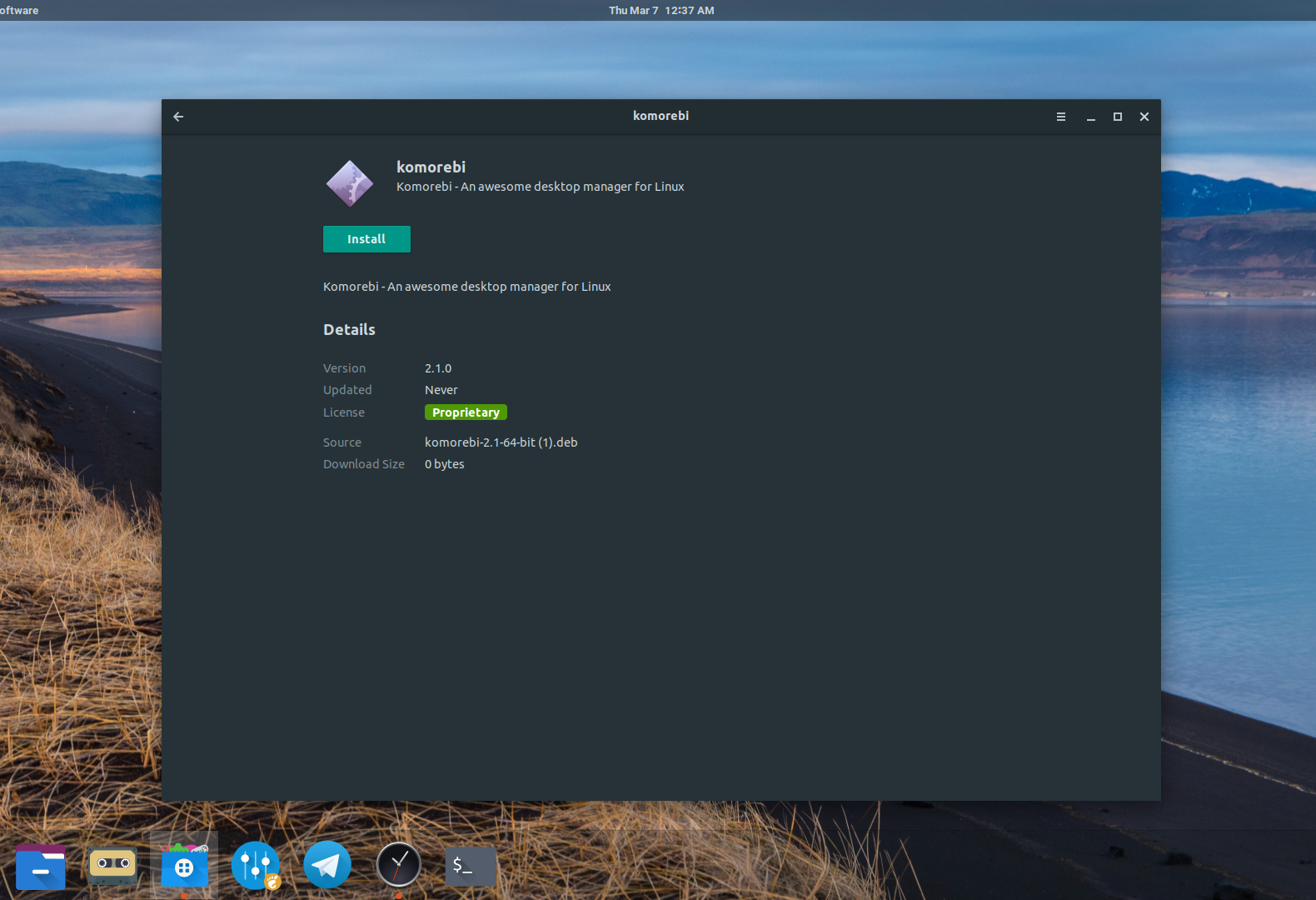 Prescott Linux Komorebi Wallpapers Display Live Time